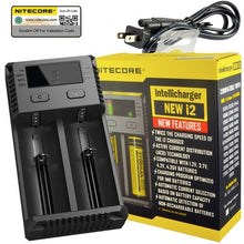 Load image into Gallery viewer, Nitecore i2 18650 Battery Charger