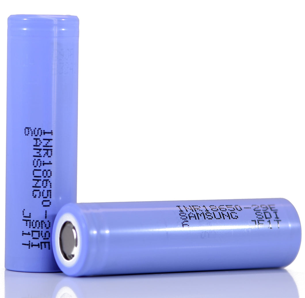 Samsung 29E 18650 2850mAh 2.75A Battery