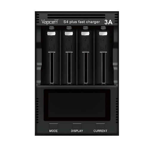 Vapcell S4 Plus Universal Fast Battery Charger