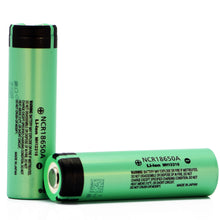 Load image into Gallery viewer, Panasonic NCR18650A 3100mAh 6.2A Battery