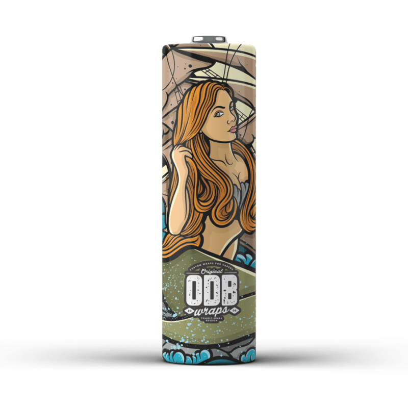 ODB Mermaid Wraps (21700) - Pack of 4