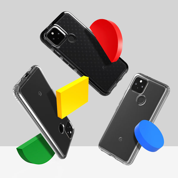 Google Pixel 5 and 4a 5G cases now available at tech21