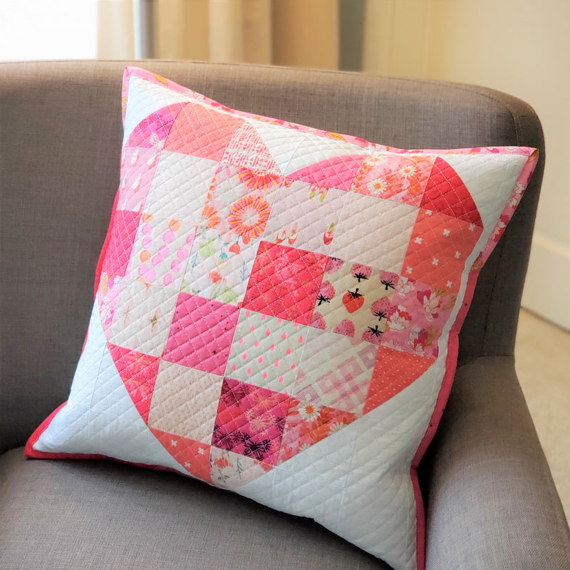 Modern Quilt Patterns for Valentine's Day