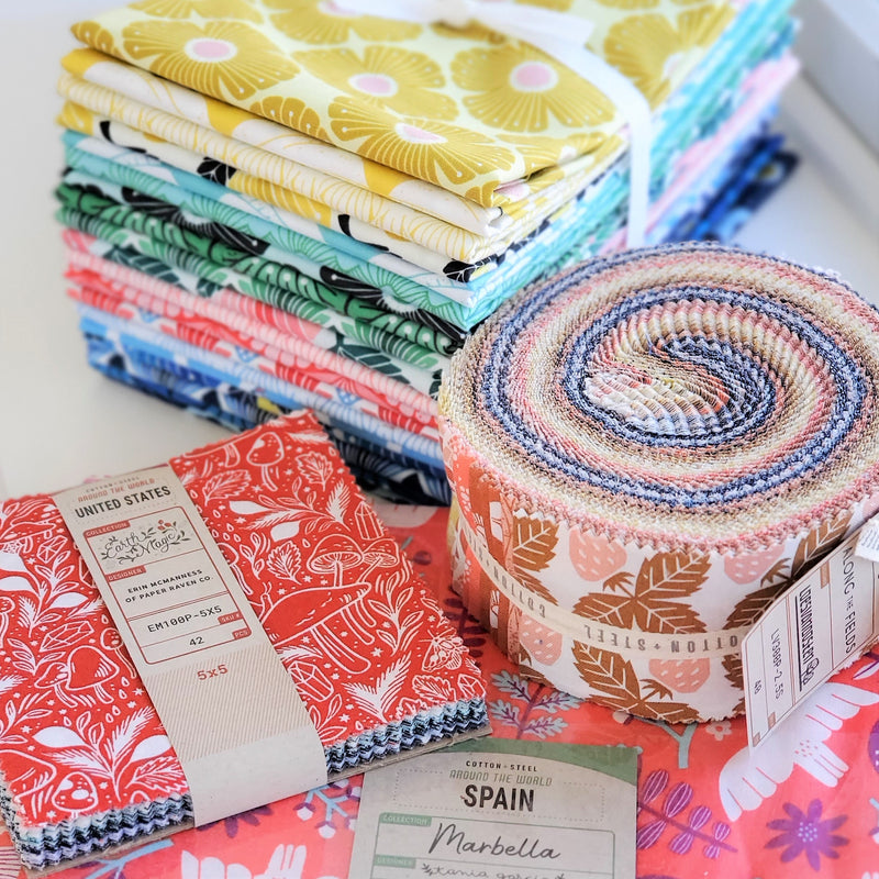 The Different Types of Pre-cut Quilting Fabric