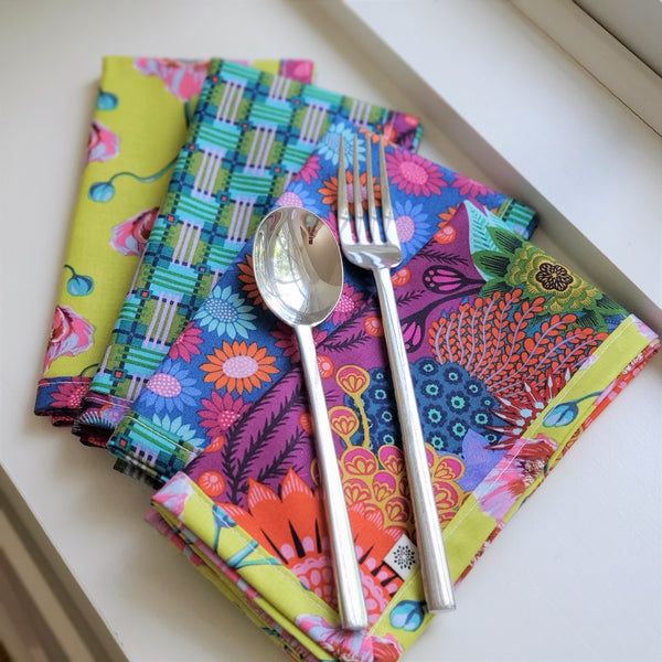 Earth Day Napkins | Little Fabric Shop