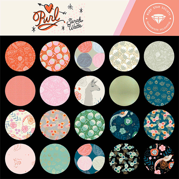 Purl Fabric Collection | Sarah Watts | Ruby Star Society | Little Fabric Shop