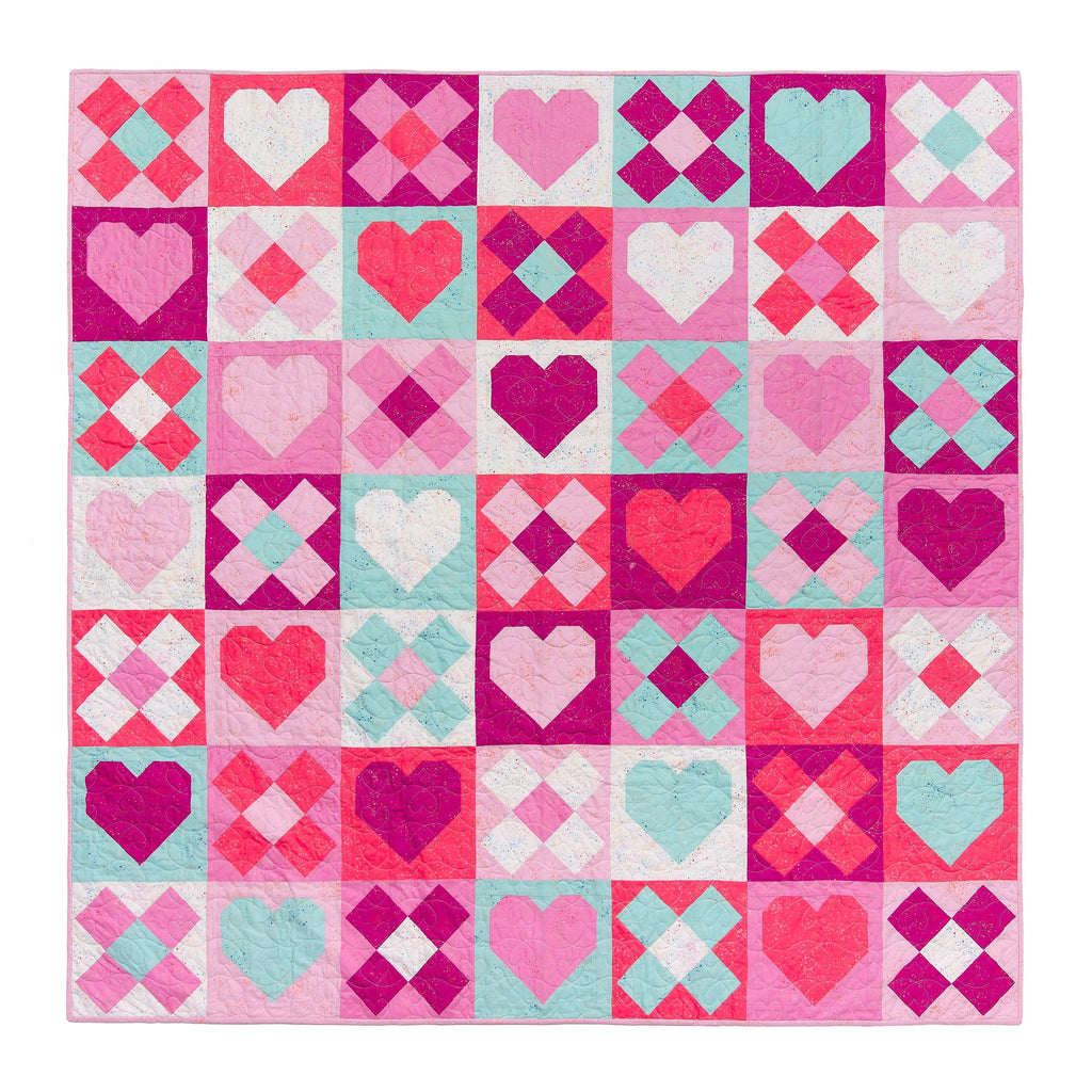 Be Mine Quilt Pattern | Pen + Paper Designs