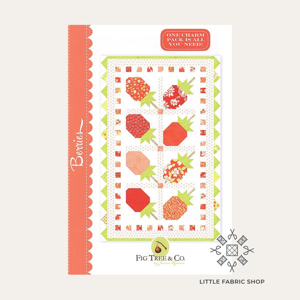 Berries | Quilt Pattern | Fig Tree & Co.