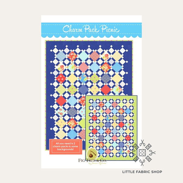 Charm Pack Picnic | Quilt Pattern | Fig Tree & Co.