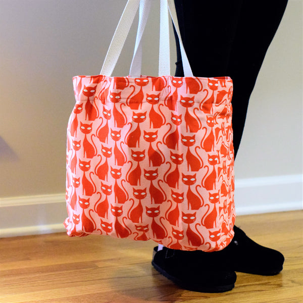 Squad Tote Bag Pattern | Little Fabric Shop