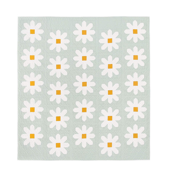 Fresh as a Daisy Baby Quilt Pattern | Pen + Paper Patterns
