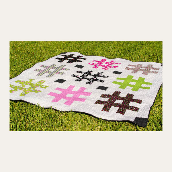 Hash Tag Quilt | Sew She Can