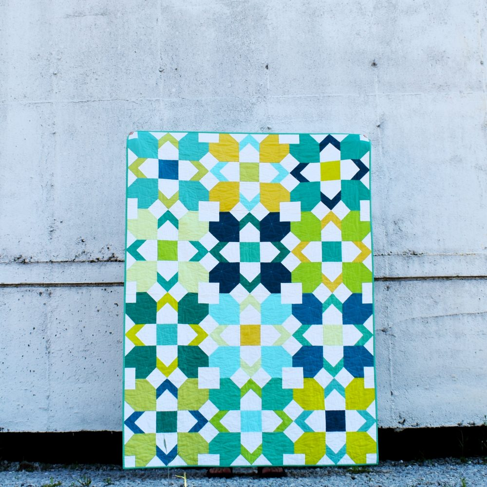 Inkling Quilt Pattern | Patchwork and Poodles