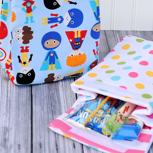 9 Back to School Sewing Projects | Little Fabric Shop