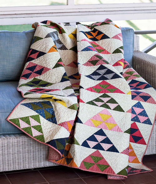 Pomegranate Mountains Quilt