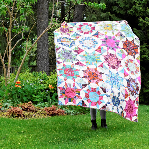 Shimmer Baby Quilt Pattern | Cluck Cluck Sew