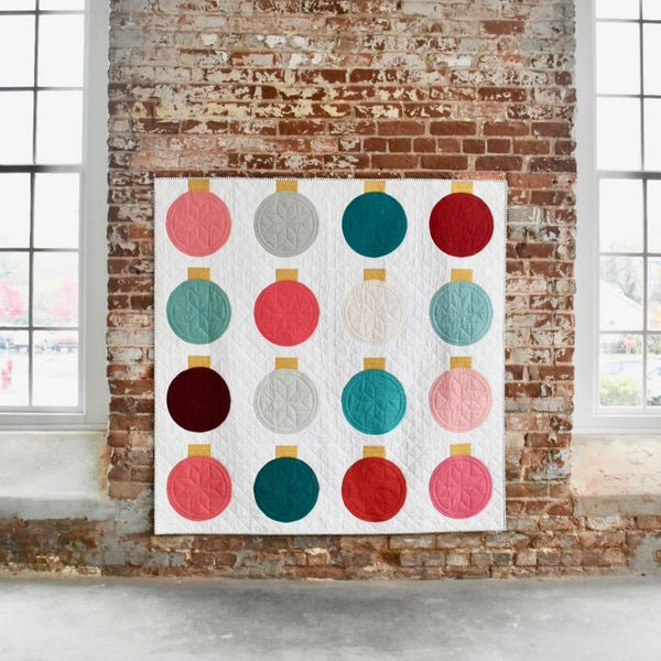 Lo and Behold Retro Ornaments Quilt Pattern | Little Fabric Shop