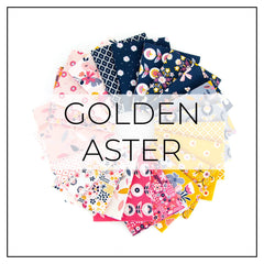 Golden Aster Fabric Collection | Riley Blake Designs