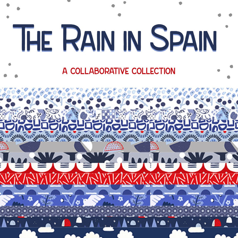 The Rain in Spain Collection | Cotton + Steel | Half Yard Bundle