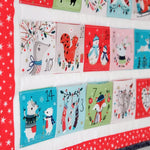 Forest Friends Advent Panel | Dashwood Studio | Sewing DIY Advent Calendar Panel