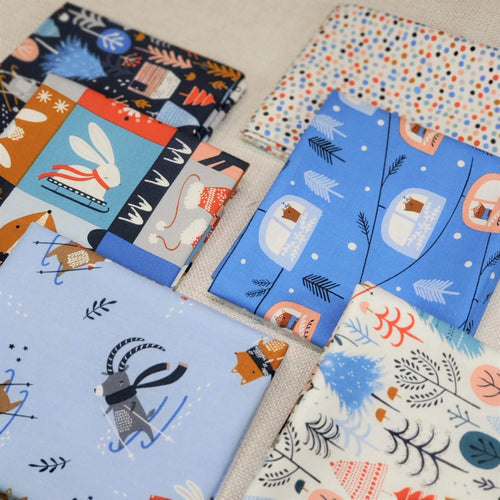 Snow Much Fun Collection | Dashwood Studio | Fat Quarter Bundle