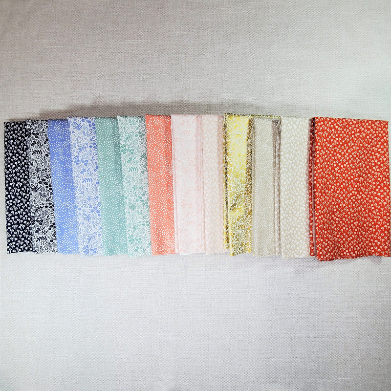 Rifle Paper Co. Basics | Cotton+Steel Fabric | Half Yard Bundle