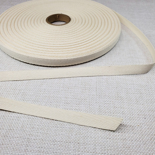 "1/2"" Cotton Twill Tape 