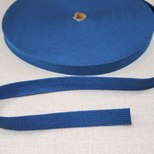 "1"" wide ROYAL BLUE Cotton Belting"