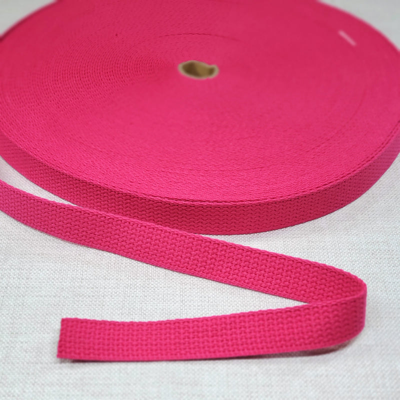 "1"" wide FUCHSIA Cotton Belting"