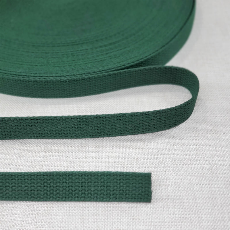 "1"" wide GREEN Cotton Belting"