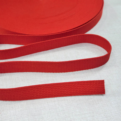 "1"" wide RED Cotton Belting"