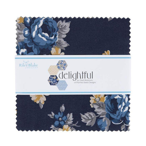 "Delightful - 5"" Charm Pack 