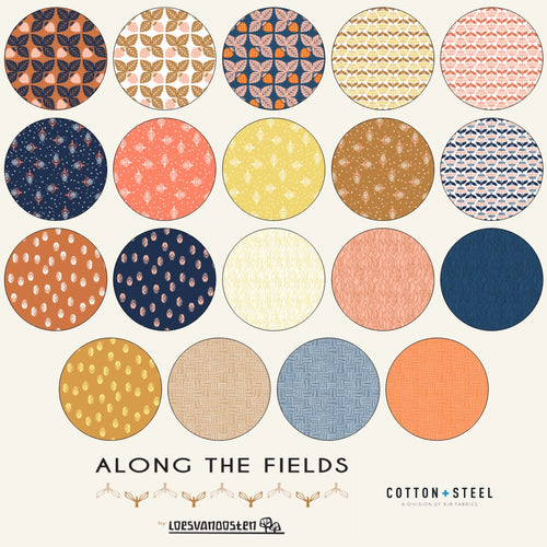 "Along the Fields - 5"" Charm Pack 