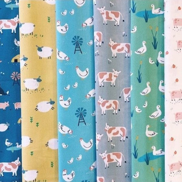 Farm Days | Fat Quarter Bundle Complete Collection
