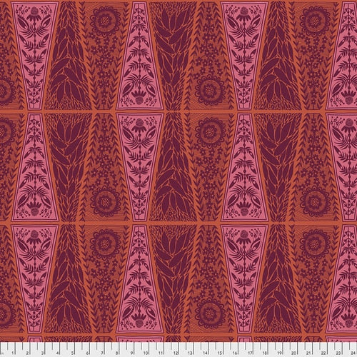 New Dresden Lace - Pumpkin | Triple Take Collection - Anna Maria Horner