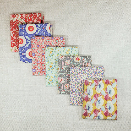 Fat Quarter Bundle | Tilda | Shop Curated Bundle - 7 Fabrics