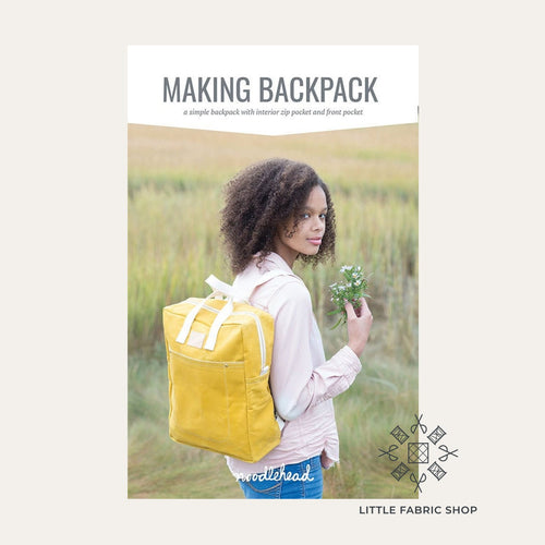 Making Backpack Pattern | Noodlehead | Sewing Bag Pattern