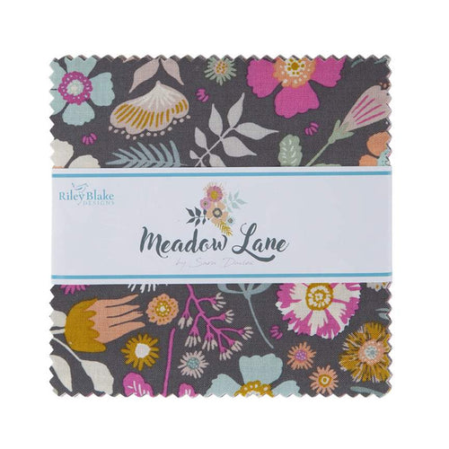 "Meadow Lane - 5"" Charm Pack 