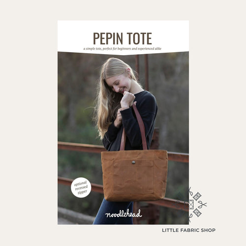 Pepin Tote Pattern | Noodlehead | Bag Sewing Pattern