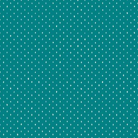 Stitch and Repeat - Teal Fabric | Cotton + Steel Basics