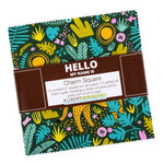 "Hello! Lucky | Wild and Free | Robert Kaufman | 5"" Charm Square Bundle"