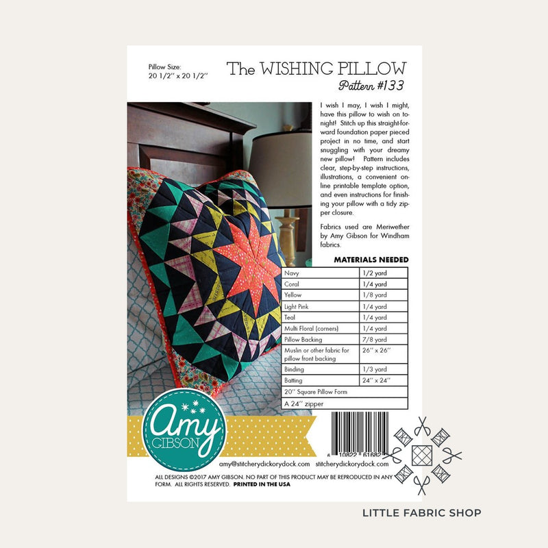 The Wishing Pillow Pattern | Amy Gibson