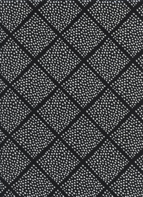 Black & White - Lattice Dots | Cotton+Steel Fabric