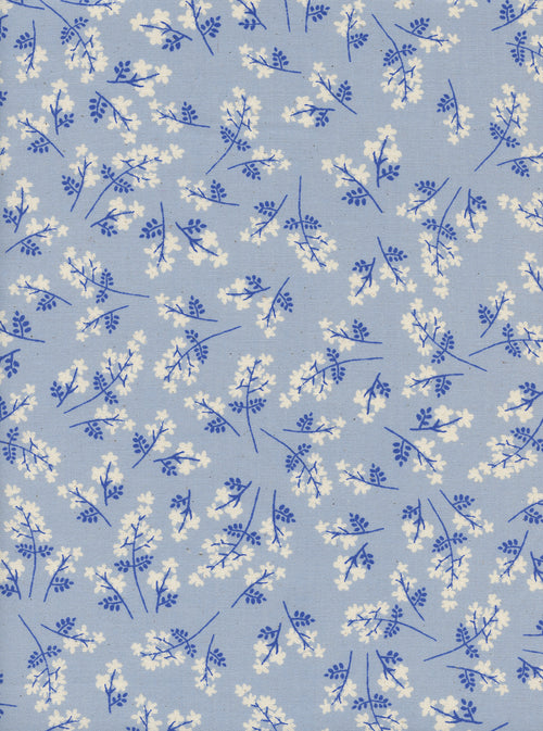 S. S. Bluebird - Bouquet - Blue | Cotton+Steel Fabric