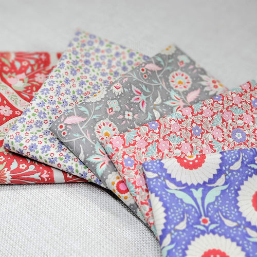 Bon Voyage! - Fat Quarter Bundle | Tilda | Shop Curated Bundle - 5 Fabrics