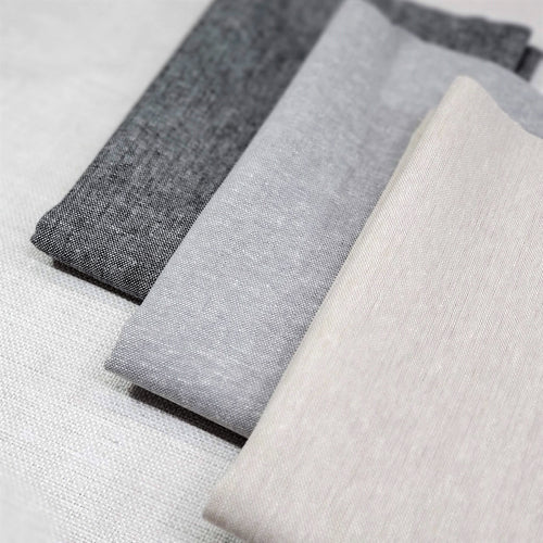 Essex Linen Canvas Yarn Dyed - Neutrals | Half Yard Bundle - 3 Fabrics