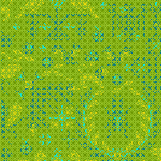 Sun Print 2020 | Alison Glass Fabric | Menagerie - Lichen