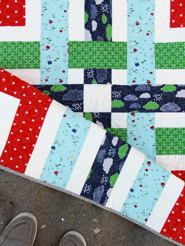 Cluck Cluck Sew | Baby Quilt Pattern | Woven