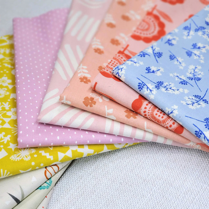 Low Volume Shop Bundle | Cotton+Steel Fabrics | Half Yard Bundle - 9
