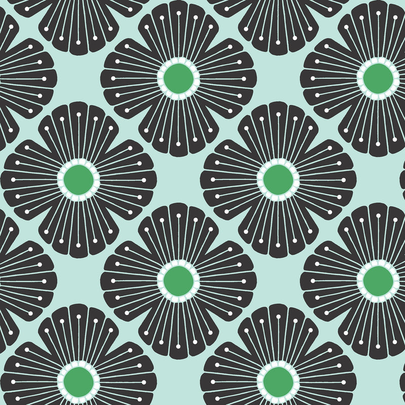 Blossom - Spring Breeze Fabric | On A Spring Day | Cotton + Steel Fabric